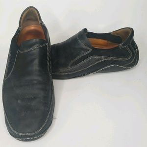 Cole Haan NikeAir Men Blac Leather slip on loafers